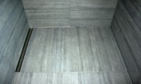 Rinnensystem mit Cemento Rassato Antracite