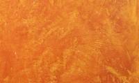 Durchgefärbter Marmorputz strukturiert mit Warmgold