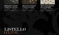 Mosaike Nero, Tabbaco und Bianco
