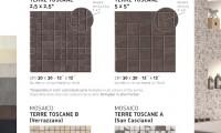 Mosaike Toscane A und B