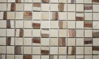 Farbe Crema Marfil-Brown Größe 2,3 cm x 2,3 cm Preis: 198 €/m²