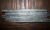 Farbe Anthrazit, Größe 10 x 40 x 1,2 cm, Stäbchenbreite 0,5 cm