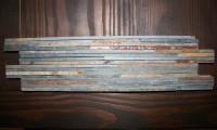 Schiefer-Sticks Rostbraun    10 x 40 x 1,2 cm; Stäbchenbreite 0,5 cm