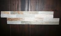 Schiefer-Verblender-Mini Beige, Größe 10 x 40 x 1 cm, Stäbchenbreite 2,5 cm