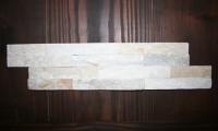 Schiefer-Verblender-Mini Grau-Weiß, Größe 10 x 40 x 1 cm, Stäbchenbreite 2,5 cm