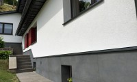Beispielbild Cemento Rasato 60 x 120 cm als Haussockel